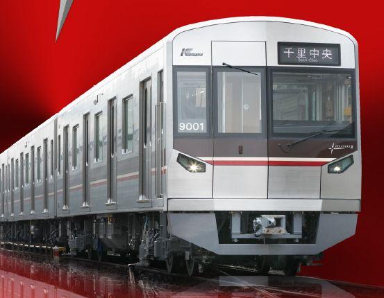 北大阪急行(千里中央)から御堂筋線の朝電車 混雑具合